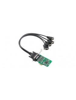 CP-104EL-A-DB9 :4-port RS-232 PCI Express serial board