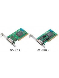 CP-112UL/CP-112UL-I Series:  2-port RS-232/422/485 Universal PCI serial boards with optional 2 kV isolation