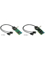 CP-132UL/CP-132UL-I: 2-port RS-422/485 Universal PCI serial boards with optional 2 kV isolation